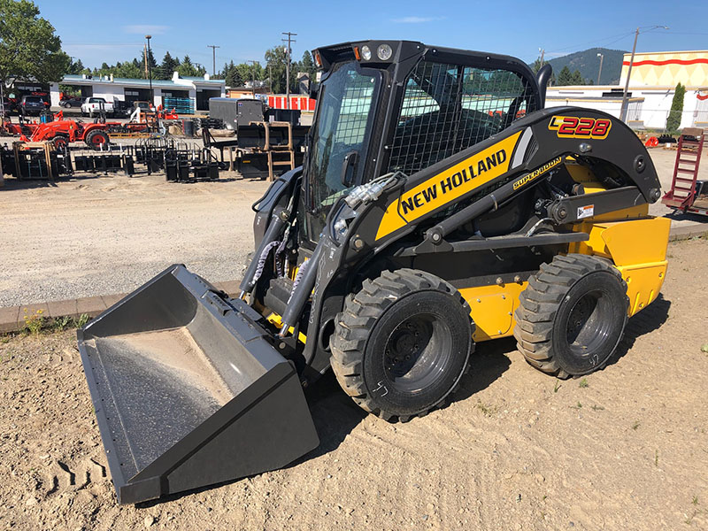 New Holland L228 Skid Steer Loader