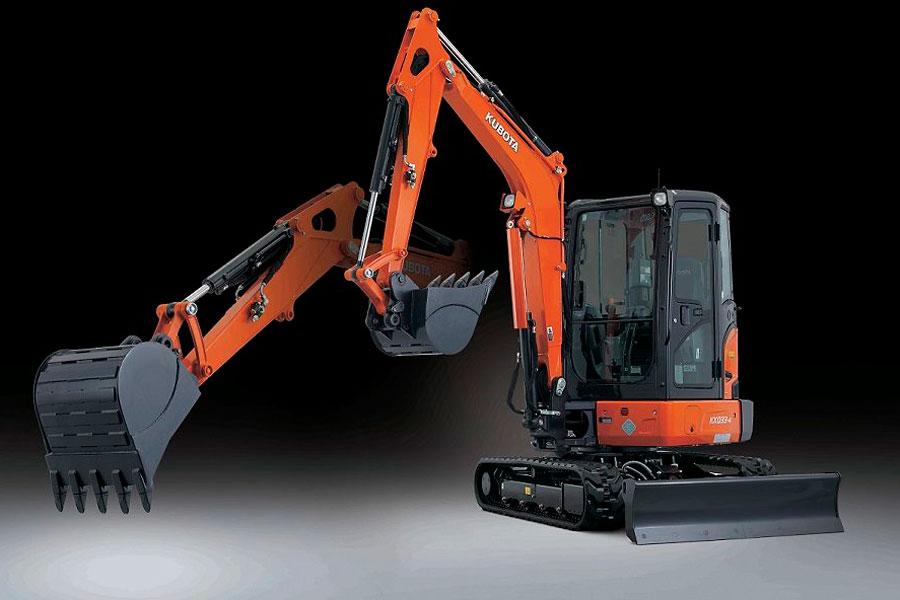 Kubota Introduces New KX033-4 Compact Excavator