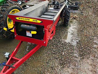 Large Manure Spreader